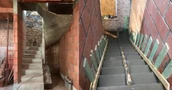 Escaliers en beton
