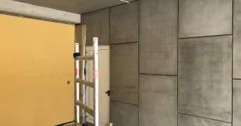 facade en fibre ciment